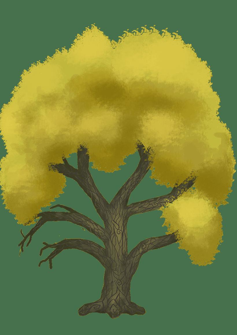 Diseño de árboles  para videojuego 0