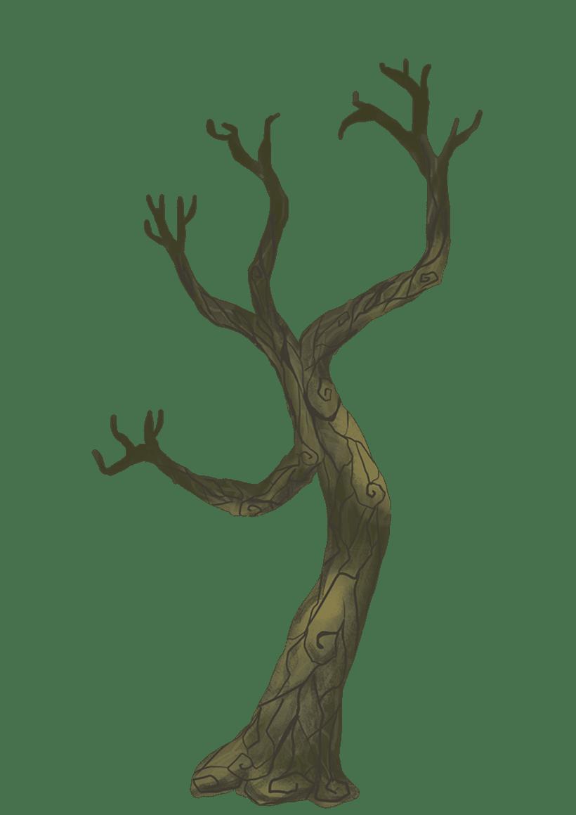 Diseño de árboles  para videojuego 4