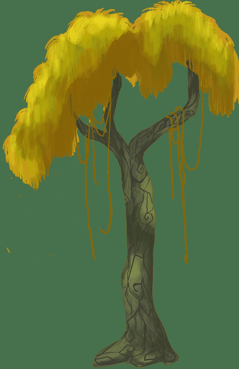 Diseño de árboles  para videojuego 5