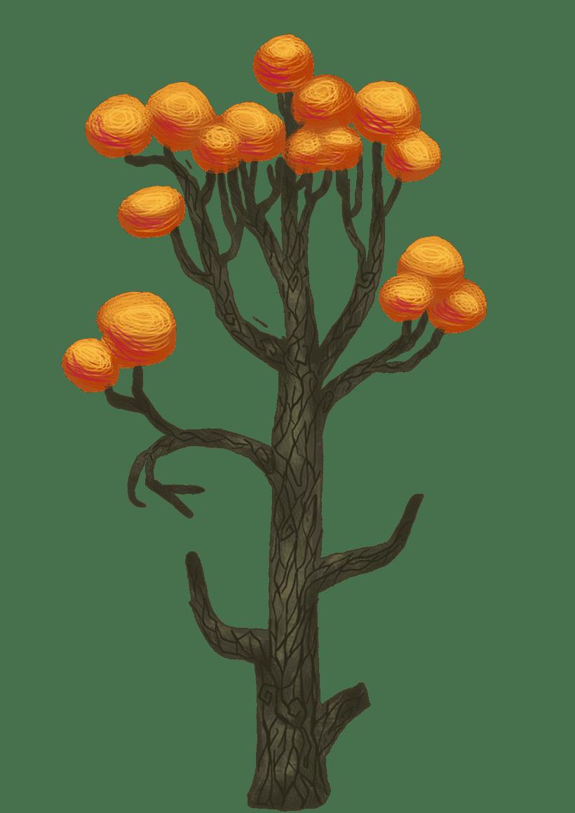 Diseño de árboles  para videojuego 8