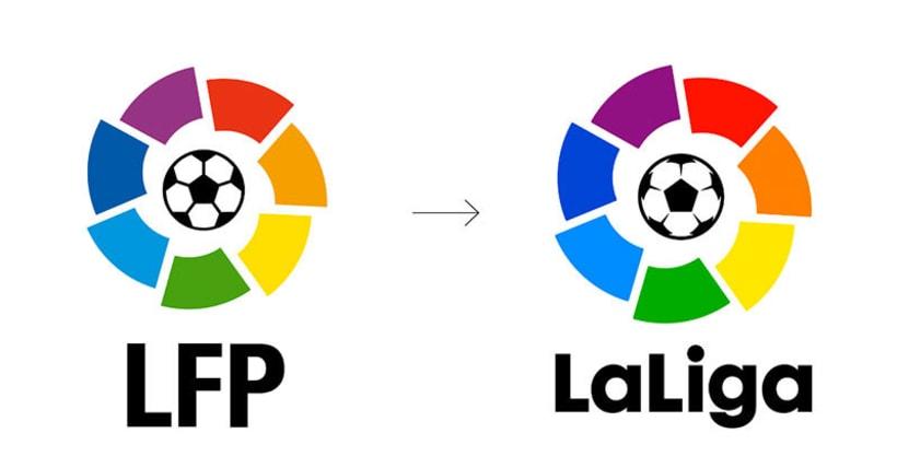 Nueva identidad visual de La Liga española 1
