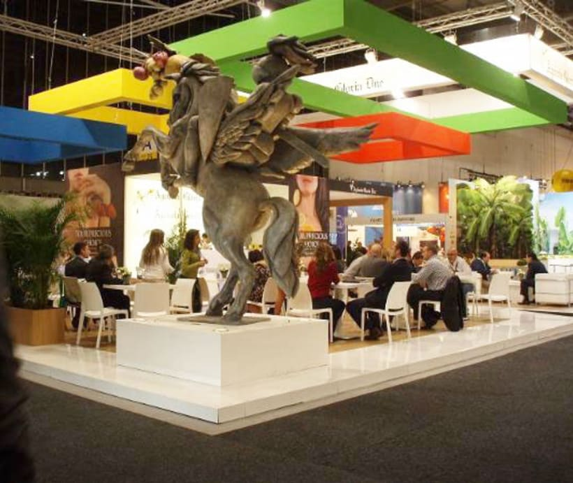 The Agricola Gloria Due stand in FRUIT LOGISTICA 02/13 0
