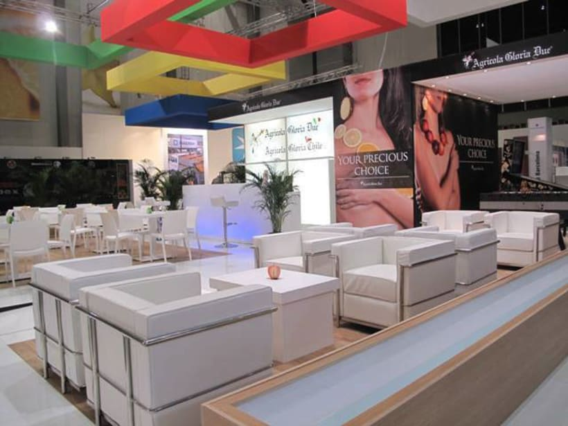 The Agricola Gloria Due stand in FRUIT LOGISTICA 02/13 1