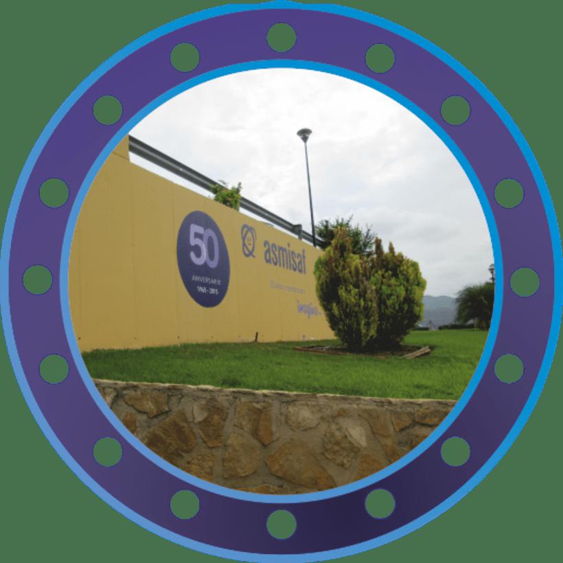 Rotulación muro de ASMISAF 16