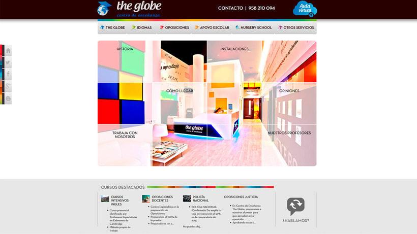 Wordpress - Academia The Globe 1