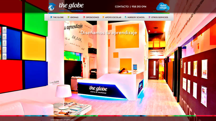 Wordpress - Academia The Globe 3