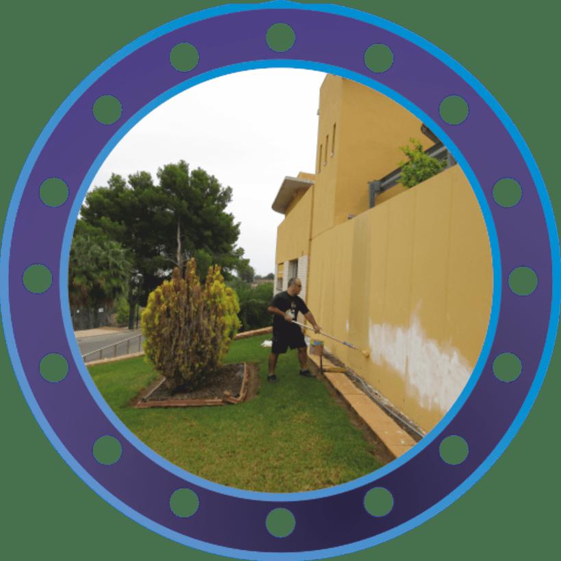 Rotulación muro de ASMISAF 2