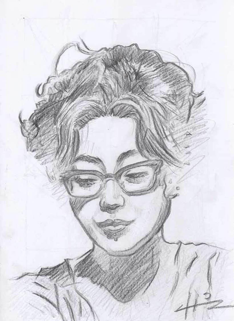 Caricaturas y Retratos 4