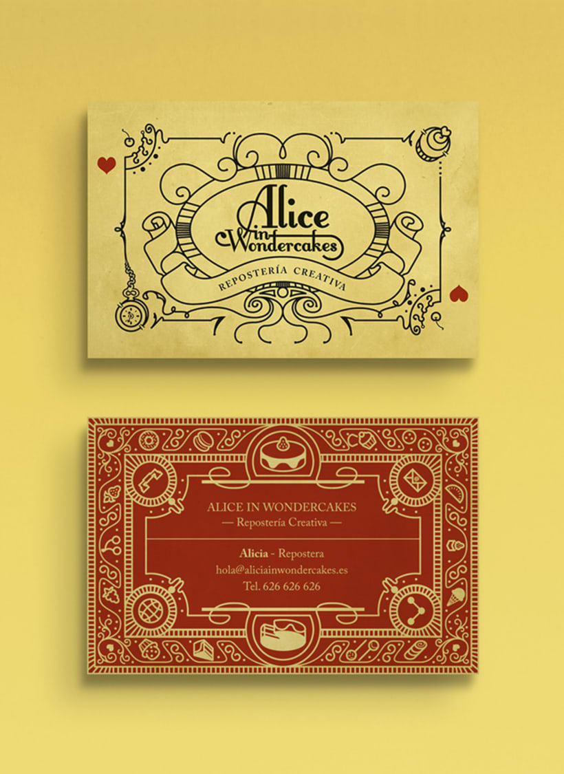 Alice in Wondercakes | Identidad 1