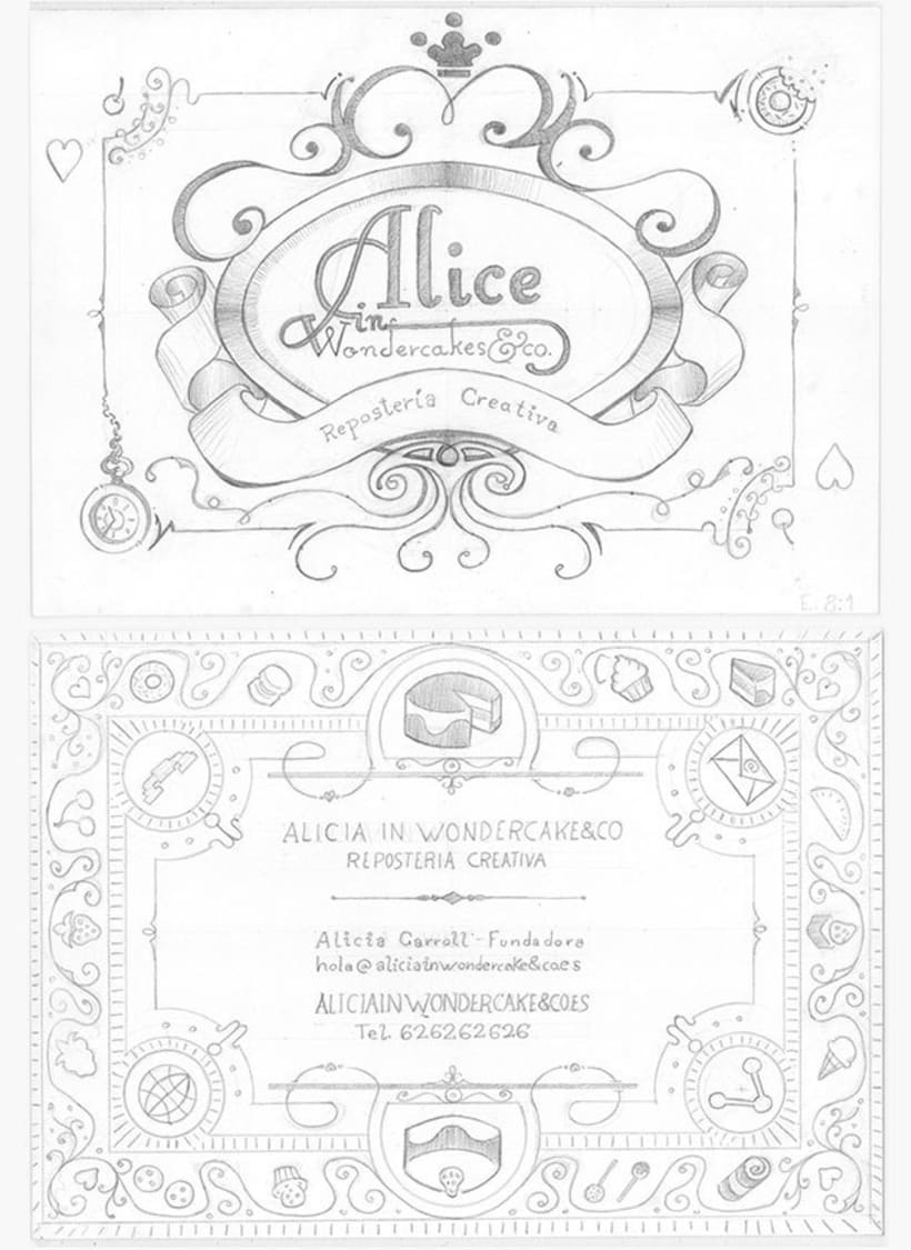 Alice in Wondercakes | Identidad 5