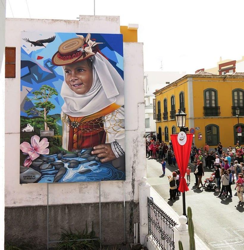 Sabotaje al Montaje: arte urbano con sabor canario 10
