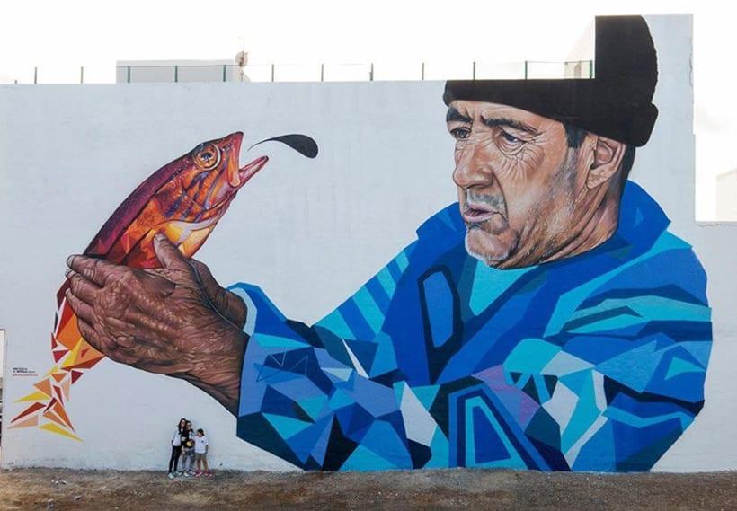 Sabotaje al Montaje: arte urbano con sabor canario 11