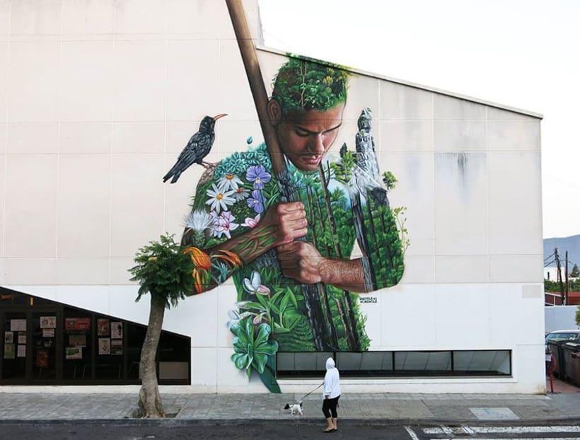 Sabotaje al Montaje: arte urbano con sabor canario 14
