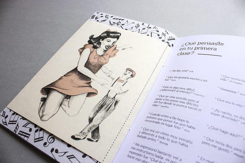 MEX Step / Mi Proyecto del curso: Diseño e ilustración de un Fanzine 21