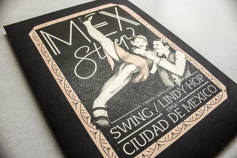 MEX Step / Mi Proyecto del curso: Diseño e ilustración de un Fanzine 0
