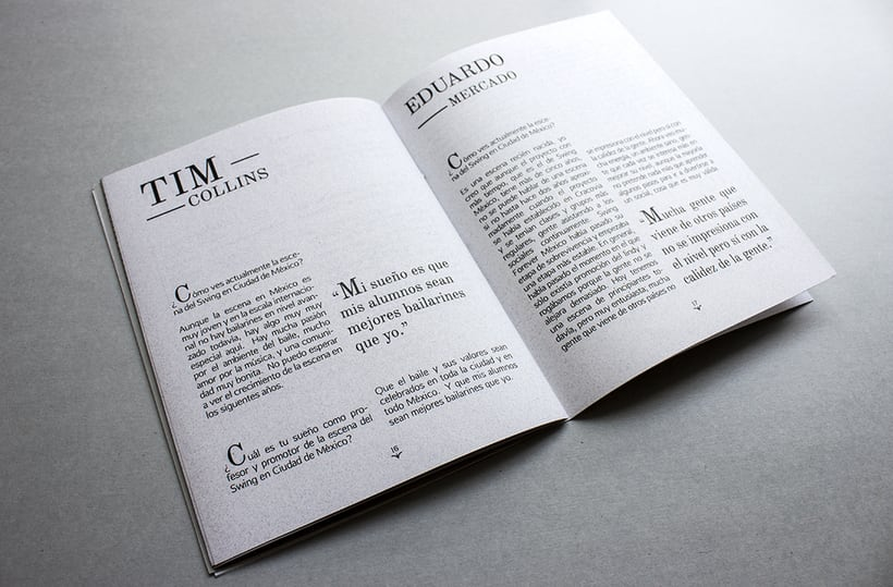 MEX Step / Mi Proyecto del curso: Diseño e ilustración de un Fanzine 12