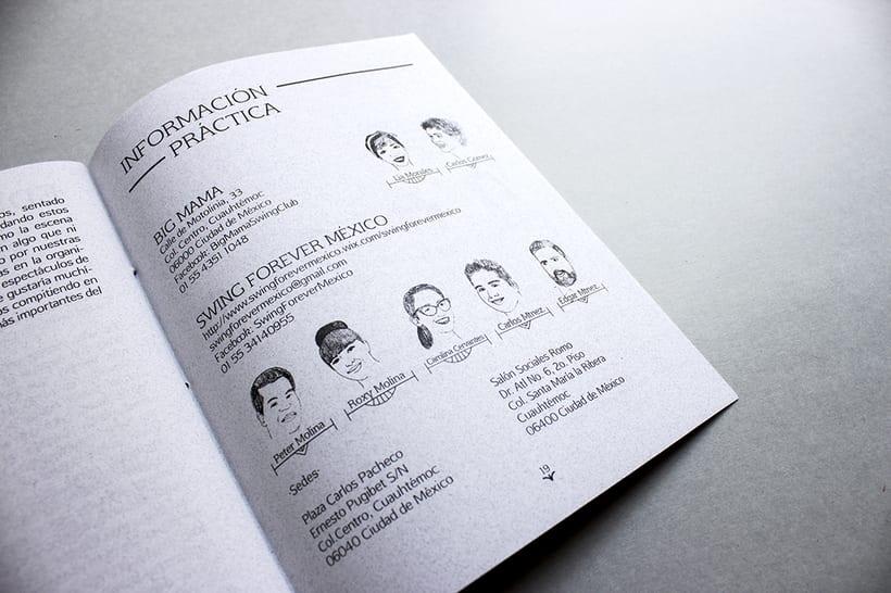 MEX Step / Mi Proyecto del curso: Diseño e ilustración de un Fanzine 13
