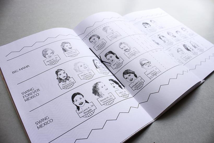 MEX Step / Mi Proyecto del curso: Diseño e ilustración de un Fanzine 19