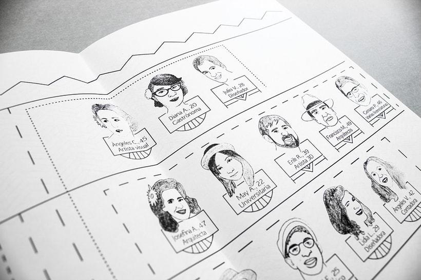 MEX Step / Mi Proyecto del curso: Diseño e ilustración de un Fanzine 20