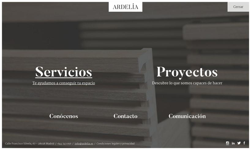 Ardelia - Diseño Logotipo & Web 4