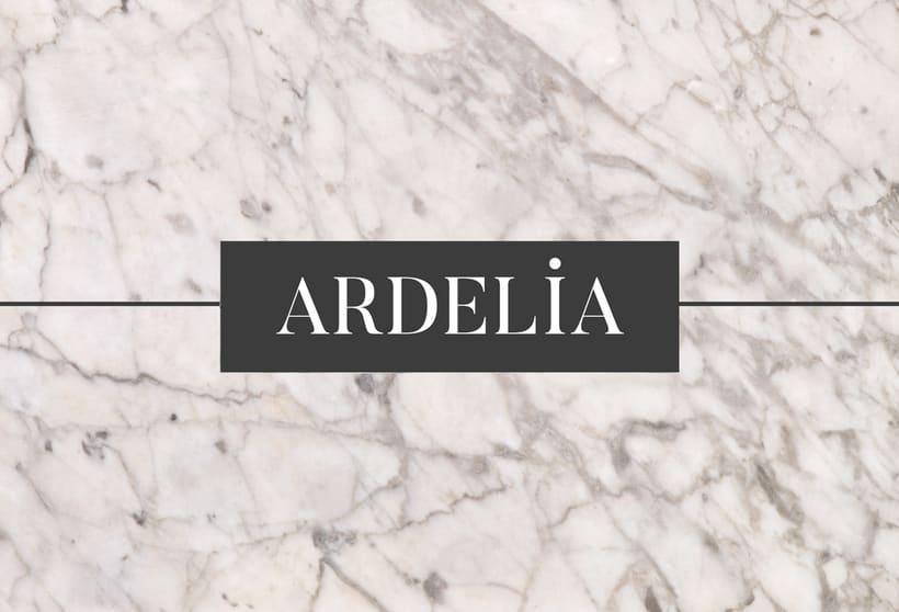 Ardelia - Diseño Logotipo & Web 1
