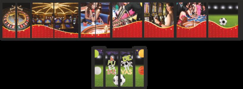 Diseño cristalera Salón de Juegos Lluna Park 0