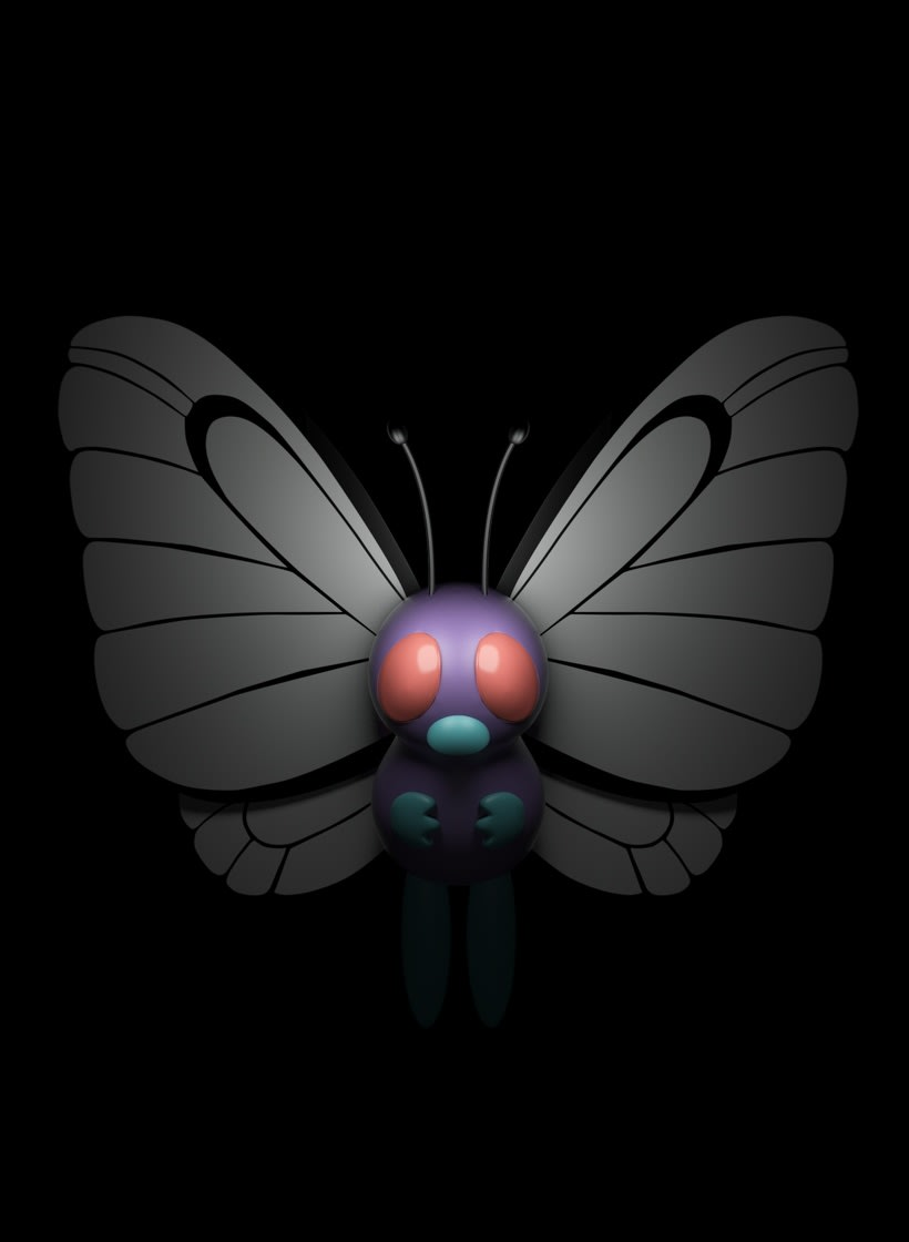 POKÉMON BUTTERFREE 0
