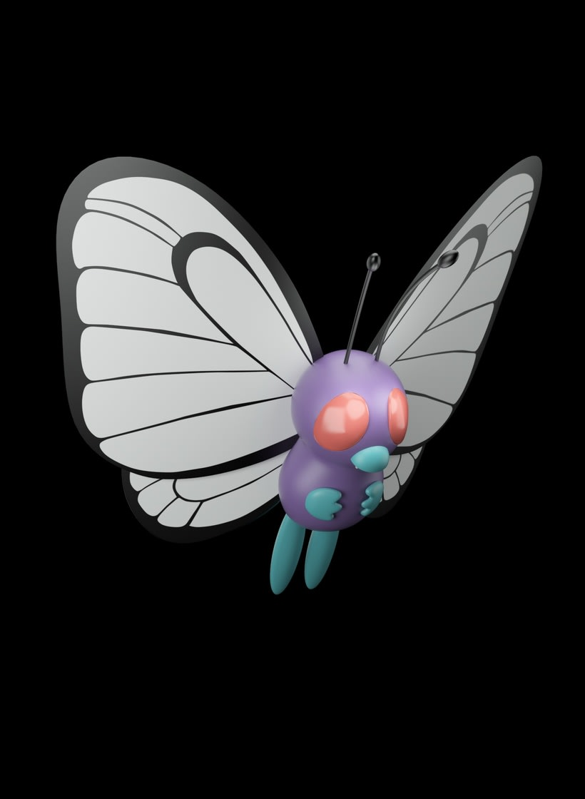 POKÉMON BUTTERFREE 1