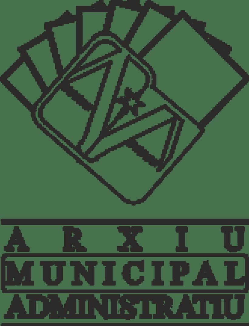 """Propuesta Logotipo """"Arxiu Municipal Administratiu"""" 0"""