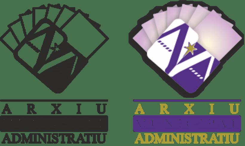"""Propuesta Logotipo """"Arxiu Municipal Administratiu"""" 3"""