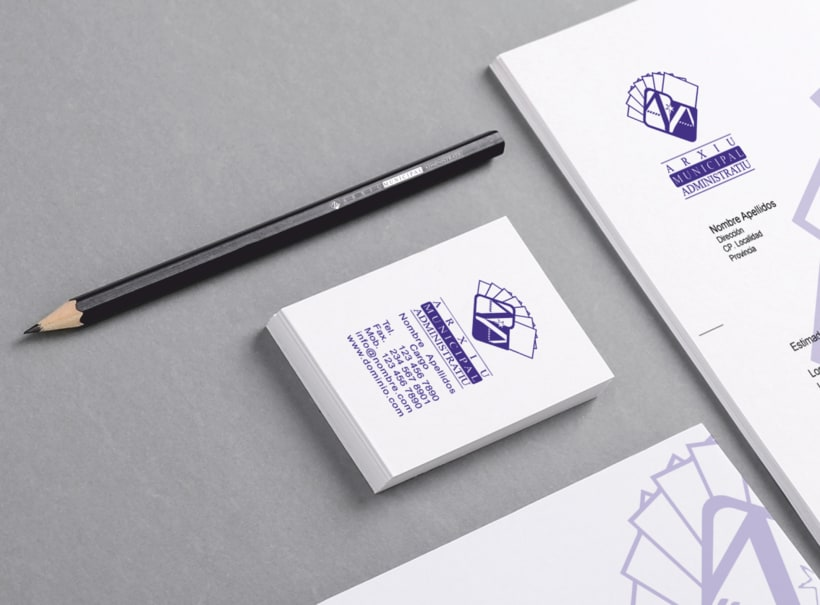 """Propuesta Logotipo """"Arxiu Municipal Administratiu"""" 7"""