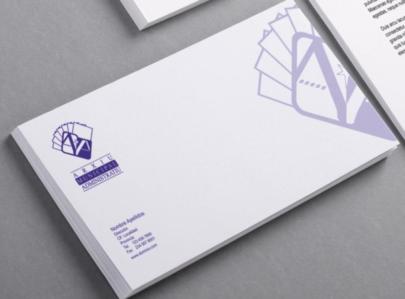"""Propuesta Logotipo """"Arxiu Municipal Administratiu"""" 8"""