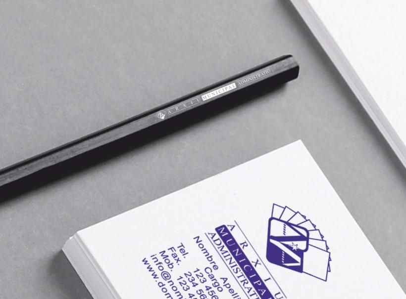 """Propuesta Logotipo """"Arxiu Municipal Administratiu"""" 10"""