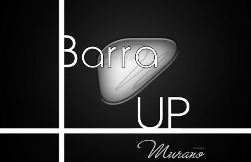 Tarjetas promocionales para Barra Up Murano 0