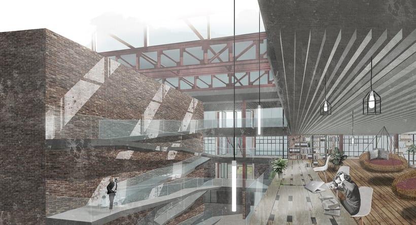 Renders ilustrados arquitectura 3