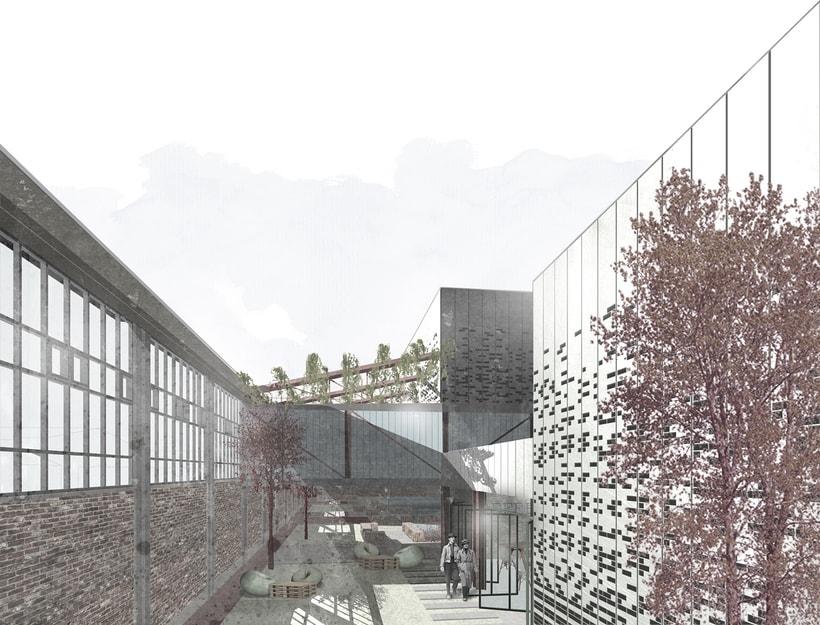 Renders ilustrados arquitectura 4