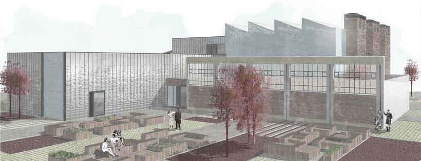 Renders ilustrados arquitectura 5
