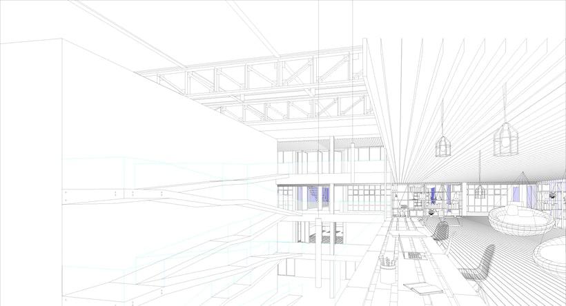 Renders ilustrados arquitectura 2