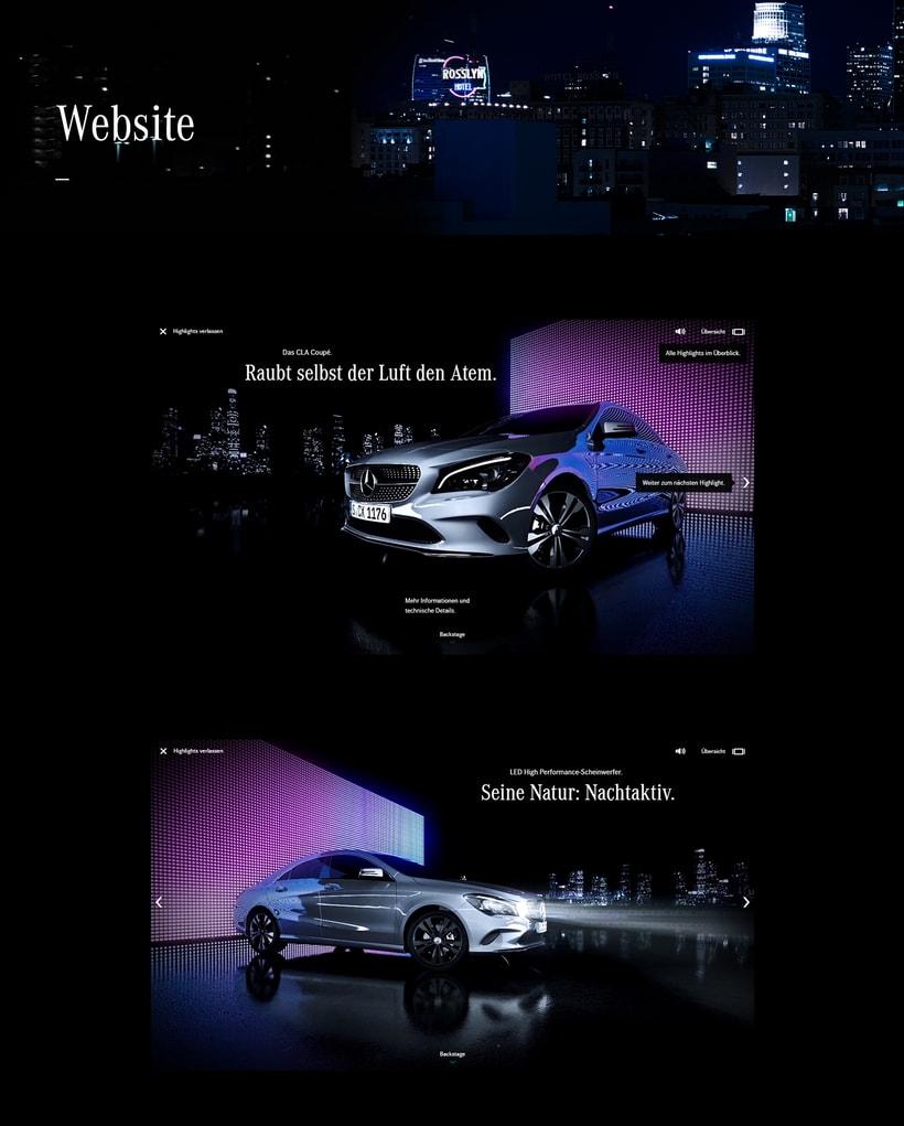 New Mercedes CLA 1