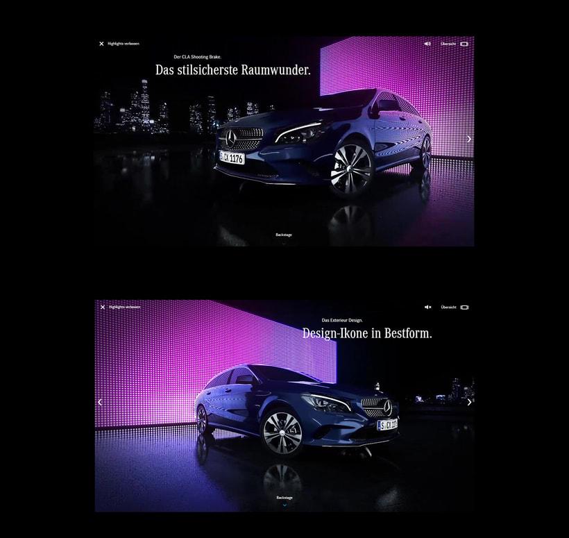 New Mercedes CLA 3