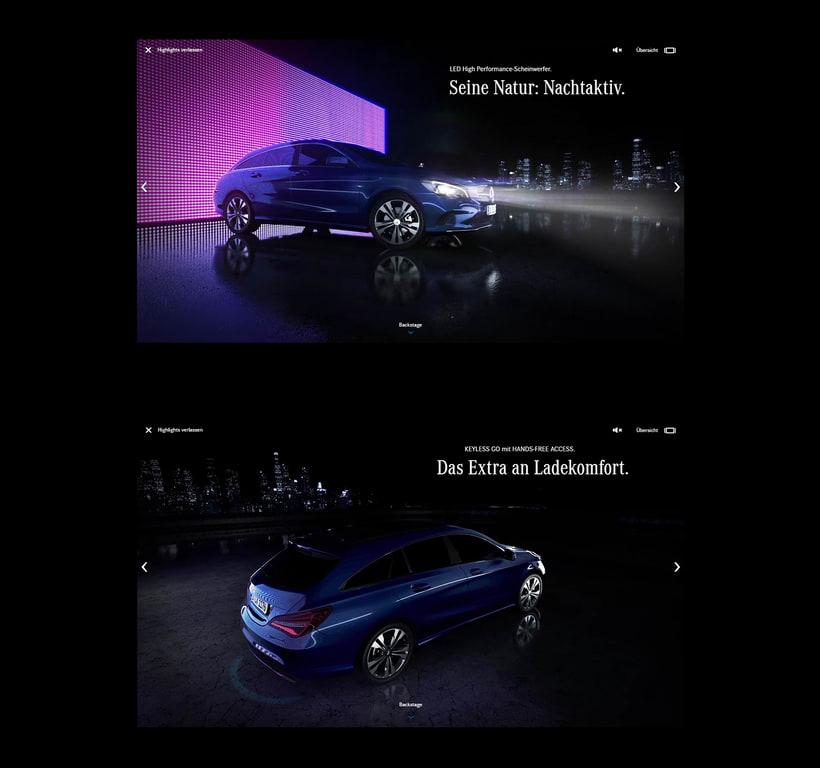 New Mercedes CLA 4