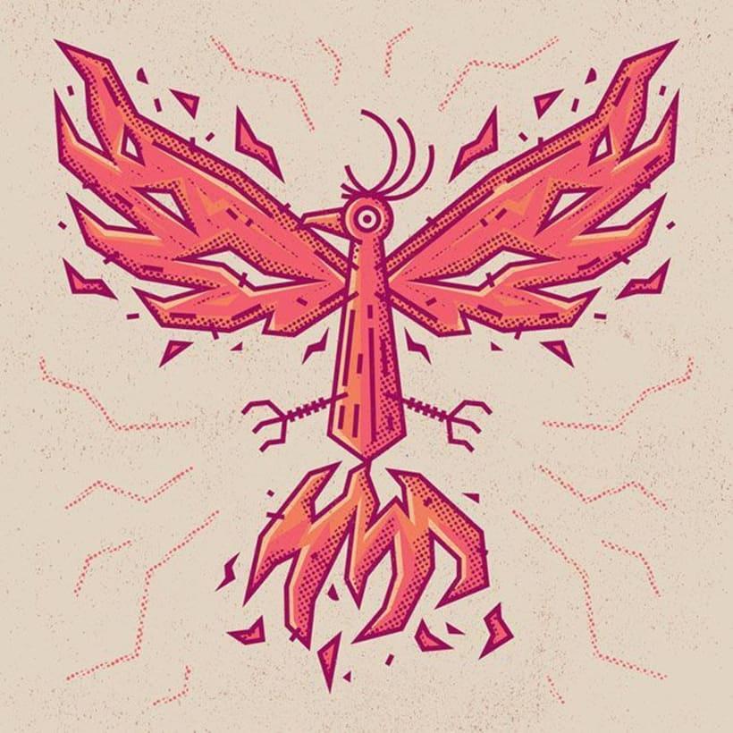 Enisaurus y su bestiario mitológico ilustrado 3
