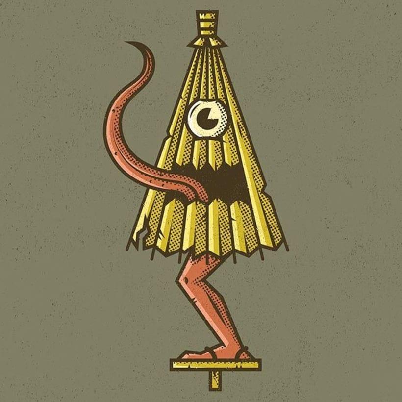 Enisaurus y su bestiario mitológico ilustrado 8