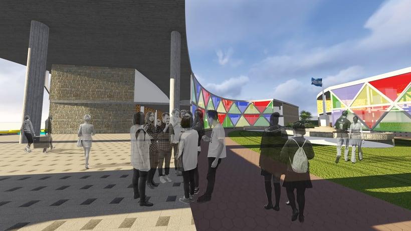 """""""Escuela de artes Escénicas para barrio San Martín"""" (Primera aproximacion) - UNC/FAUD 2"""