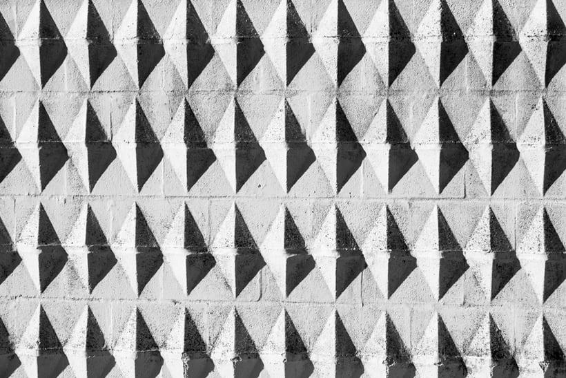 Arquitectura, minimalismo y texturas en b&w 0