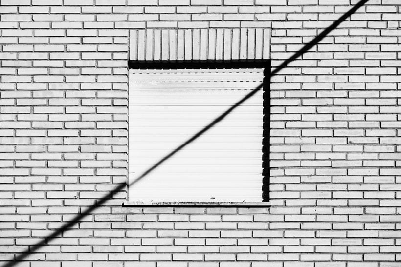 Arquitectura, minimalismo y texturas en b&w 1