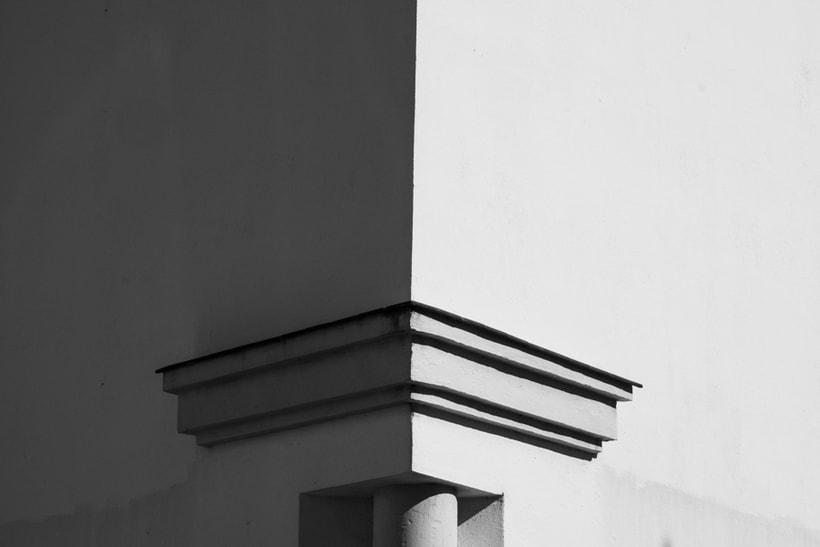 Arquitectura, minimalismo y texturas en b&w 2