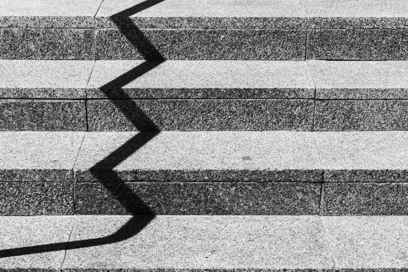 Arquitectura, minimalismo y texturas en b&w 3
