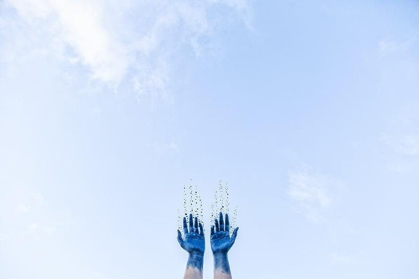 Mi cuerpo y el azul 1