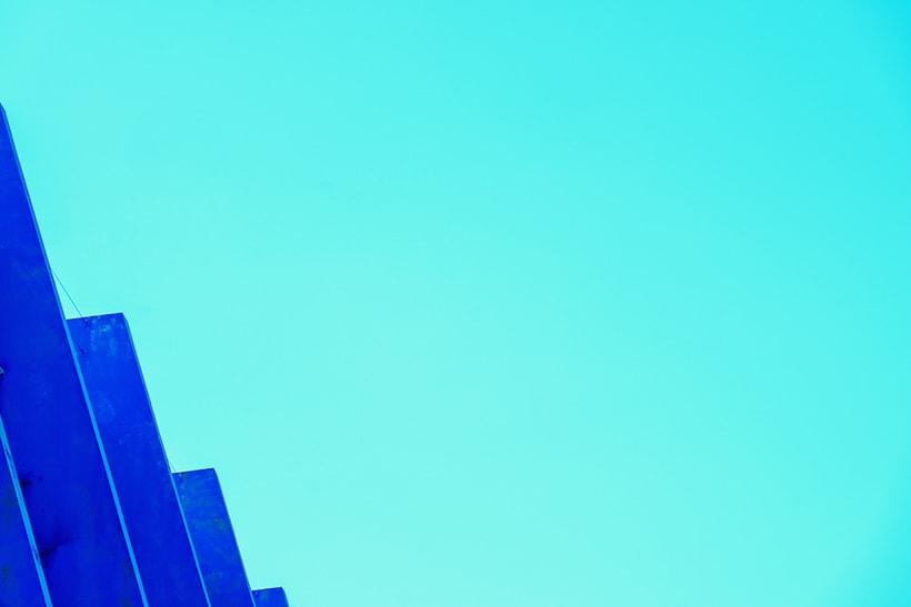 Minimalismo azul 2